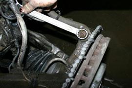 замена пневмобаллона на стойке mercedes w164