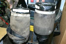замена пневмостойки mercedes w164