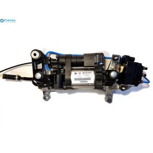 Компрессор пневматической подвески с блоком клапанов VW Touareg NF